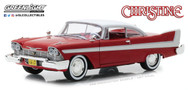 1958 Plymouth Fury Christine (1983) 1/24 Scale Diecast Car Model By Greenlight 84071