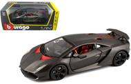 Lamborghini Sesto Elemento Grey 1/24 Scale Diecast Car Model By Bburago 21061
