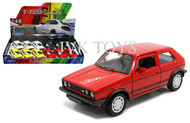 "Volkswagen Golf GTI Display Box Of 12 4.75"" Long Diecast Car Model Welly 43681"