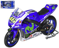 Yamaha Factory Racing Moto GP Valentino Rossi #46 Motorcycle 1/10 Scale By Newray 31408VR