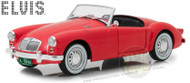 1959 MGA 1600 Roadster MK I Blue Hawaii Elvis Presley 1/18 Scale Diecast Car Model By Greenlight 13524