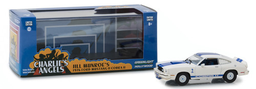 1976 Ford Mustang II Cobra II Charlies Angels 1/43 Scale By Greenlight 86516