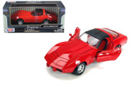 1979 Chevrolet Corvette Red 1/24 Scale Diecast Car Model By Motor Max 73244
