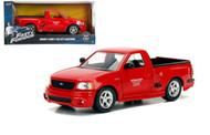 Ford F-150 SVT Lightning Truck Red Brians Fast & Furious 1/24 By Jada 99574