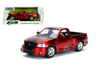 1999 Ford F-150 SVT Lightning Truck Just Trucks Candy Red 1/24 By Jada 30357