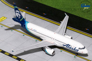 ALASKA AIRLINES AIRBUS A320-200 NEW LIVERY N625VA 1/200 SCALE DIECAST MODEL BY GEMINI JETS G2ASA737
