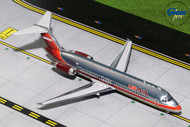 US AIR DOUGLAS DC-9-30 MAROON LIVERY POLISHED N950VJ 1/200 SCALE DIECAST MODEL BY GEMINI JETS G2USA735
