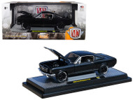 1966 Ford Mustang 2+2 GT Black Pearl Metallic 5880 Made 1/24 By M2 40300-64B