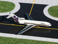 ALASKA AIRLINES BOEING B727-100 RUSSIA DOMES 1/400 SCALE DIECAST MODEL BY GEMINI JETS GJASA171