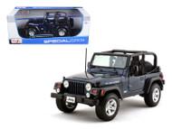 Jeep Wrangler Rubicon Dark Blue 1/18 Scale Diecast Model By Maisto 31663