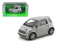 Aston Martin Cygnet Grey 1/24 Scale Diecast Car Model By Welly 24028