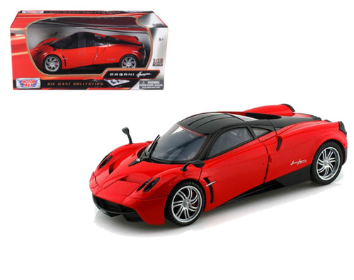 Pagani Huayra Red 1/18 Scale Diecast Car Model By Motor Max 79160