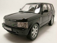 2003 Land Rover Range Rover Black SUV 1/18 Scale Diecast Car Model By Welly 12536