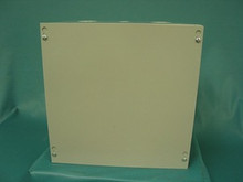 B-Line 12128 SC Type 1 Screw Cover Enclosure w/Knockouts 12 x 12 x 8, New