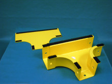 "Newton 00251500DB Horizontal T 2"" x 2"", Yellow"