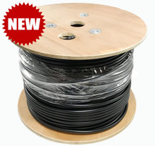 TXM LOW600 Low Loss Direct Burial Coax Cable 500' Reel - LMR®-600 Equiv