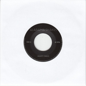 "ALABAMA SHAKES Heavy Chevy 7"" Vinyl Single"