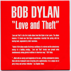 "BOB DYLAN - Love And Theft Sampler (5"" CD SINGLE)"