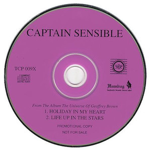 """CAPTAIN SENSIBLE - Holiday In My Heart (5"""" CD SINGLE)"""