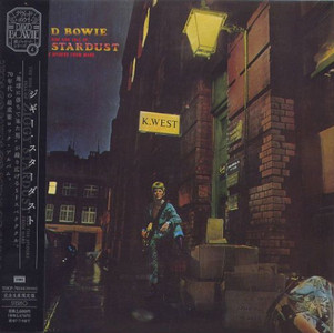 DAVID BOWIE - The Rise And Fall Of Ziggy Stardust & The Spiders From Mars (CD ALBUM)