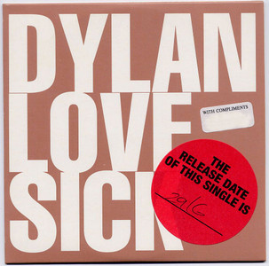 "BOB DYLAN - Love Sick (5"" CD SINGLE)"