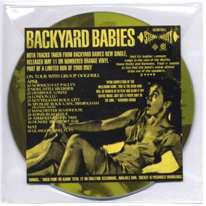 "BACKYARD BABIES - Bombed (Out Of My Mind) (5"" CD SINGLE)"