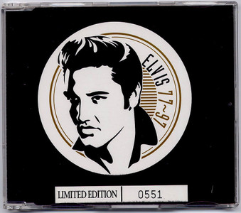 """ELVIS PRESLEY - Rags To Riches (5"""" CD SINGLE)"""