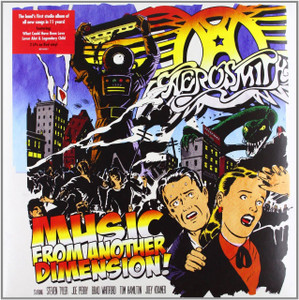 AEROSMITH Music From Another Dimension UK red vinyl 2LP + CD SEALED/NEW