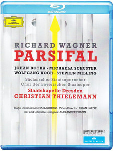 Wagner: Parsifal 2013 Blu-ray SEALED/NEW Christian Thielemann