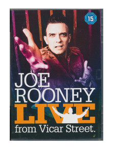 JOE ROONEY LIVE From Vicar Street 2005 R2 DVD NEW/UNPLAYED Free UK P&P