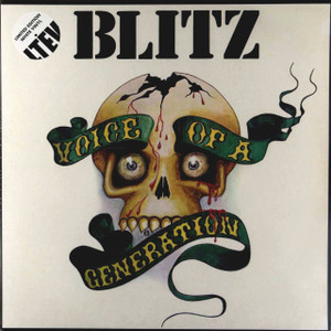 BLITZ Voice Of A Generation 2015 UK limited edition white vinyl 2-LP SEALED/NEW