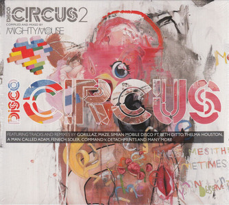 DISCO CIRCUS 2 Compiled And Mixed by MIGHTY MOUSE UK 2010 2-CD set NEW/SEALED