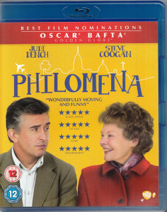 PHILOMENA 2013 UK Blu-ray NEW / SEALED Judi Dench Steve Coogan Stephen Frears