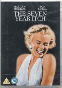 THE SEVEN YEAR ITCH 2012 DVD PAL SEALED/NEW Marilyn Monroe Tom Ewell