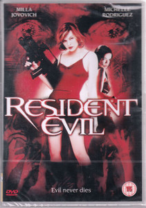 RESIDENT EVIL 2002 UK PAL Region 2 DVD NEW/SEALED Milla Jovovich SLIPKNOT