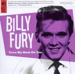 BILLY FURY Turn My Back On You 2011 23-track Compilation CD NEW / SEALED