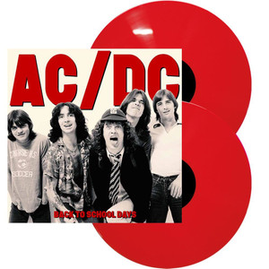 AC/DC Back To School Days 2016 UK Limited Edition Red Vinyl 2-LP set NEW/SEALED