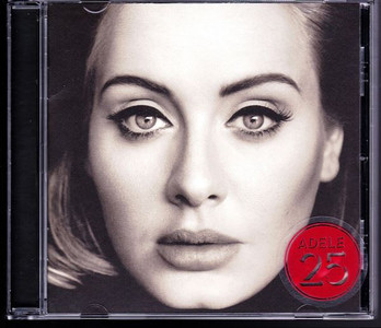ADELE 25 2015 11-track CD NEW/SEALED