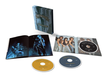 BON JOVI New Jersey 2014 Super Deluxe Edition 2-CD / DVD Box Set NEW/SEALED