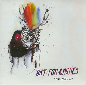 """BAT FOR LASHES - The Wizard (7"""" Vinyl Single)"""