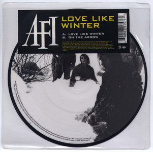 "A.F.I. - Love Like Winter (7"" Vinyl Picture Disc)"