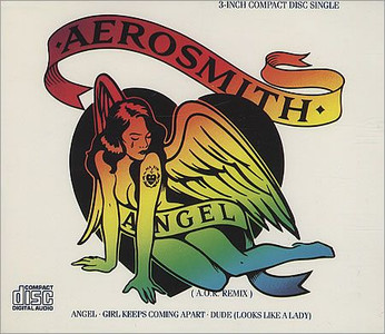 "AEROSMITH - Angel (3"" CD SINGLE)"