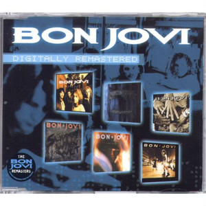 "BON JOVI - Digitally Remastered Sampler (5"" CD SINGLE)"