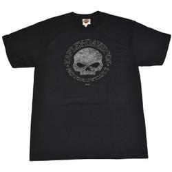 Sturgis Harley-Davidson® Men's Willie G Round Navy Blue Short Sleeve T-Shirt