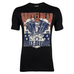 Sturgis Harley-Davidson® Men's Shovelhead The Patriot T-Shirt