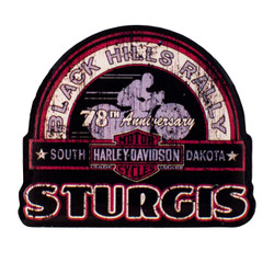 2018 Sturgis Harley-Davidson® 78th Rally Pin