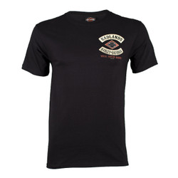 Badlands Harley-Davidson® Men's Rocker Diamond Short Sleeve T-Shirt