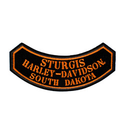 Sturgis Harley-Davidson® Small Rocker Emblem Patch