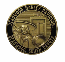 Deadwood Harley-Davidson® Wild Bill Challenge Coin