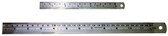 """6425 - 6"""" DOUBLE SIDED STAINLESS STEEL RULER"""